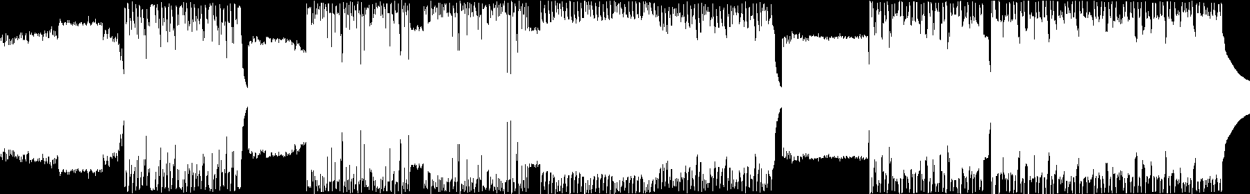 Dubstep and Glitch Hop audio waveform
