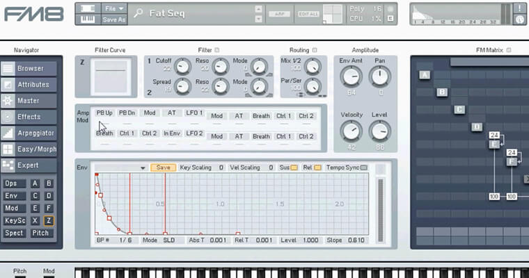 Learn Every Function & Feature Of FM8 - ADSR