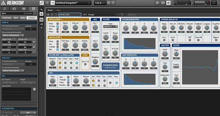 Reaktor Masterclass - The Easiest Way To Master Reaktor - ADSR