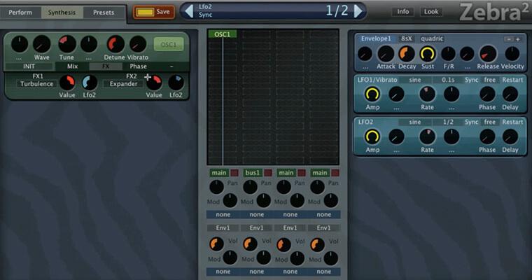 U-He ZEBRA - Oscillators & Envelopes Masterclass - ADSR