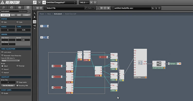 Reaktor Core Masterclass - ADSR