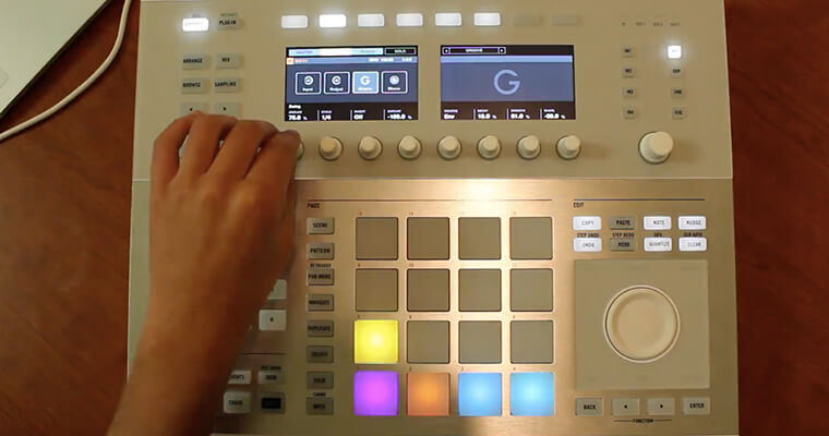 Live Performing With Maschine - ADSR