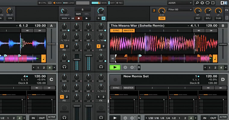 Beginners Guide to DJing with Traktor - ADSR