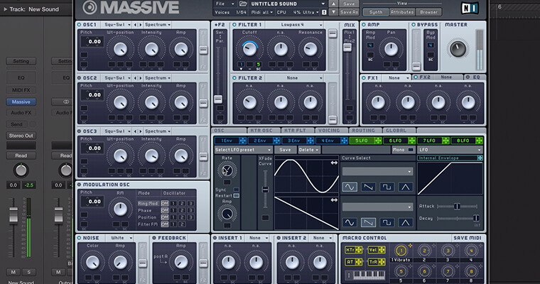 NI Massive Masterclass - Learn Every Function & Feature Of Massive - ADSR