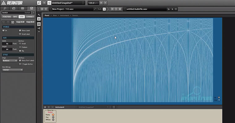 FFT (Fast Fourier Transform) with Reaktor - ADSR