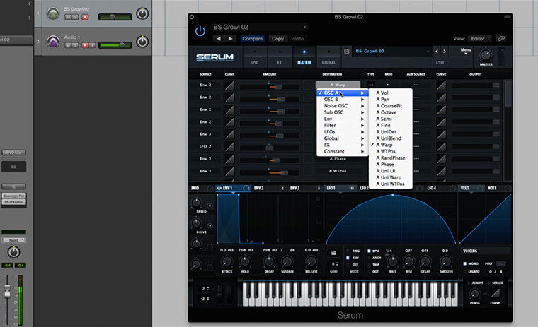 Serum Masterclass - Learn Every Function & Feature Of Xfer Serum - ADSR