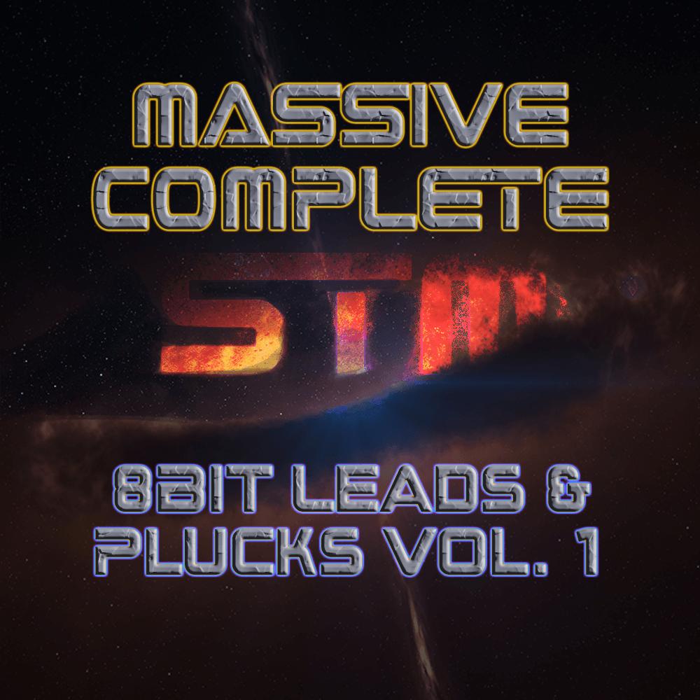 Massive Complete: 8Bit Leads and Plucks