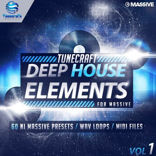 Tunecraft Deep House Elements for Massive Vol.1
