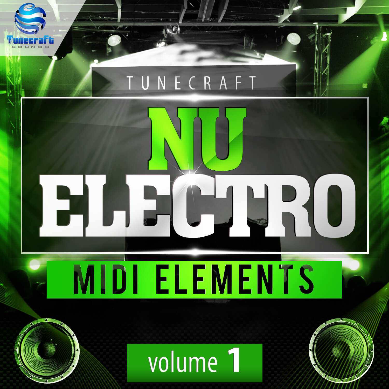Tunecraft Nu Electro Midi Elements Vol.1
