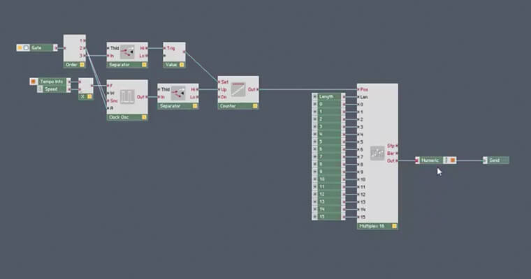 Sequencer Modules in Reaktor - ADSR