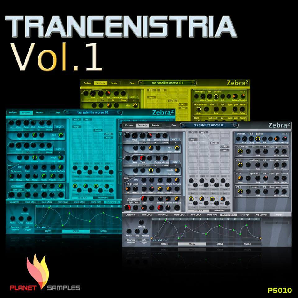 Planet Samples Zebra Trancenistria Vol.01