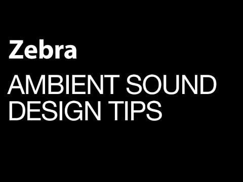 Ambient Sound Design in Zebra - Sub Mariner Patch