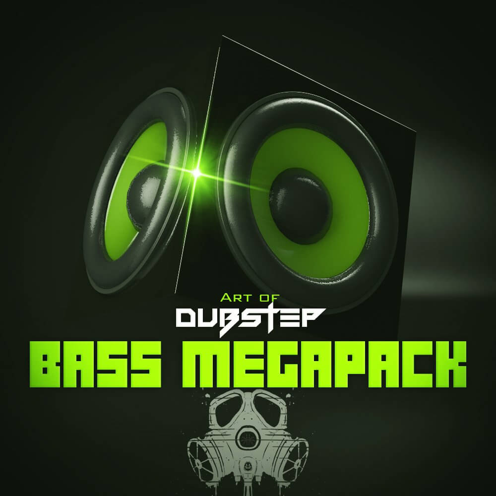 Art of Dubstep Bass Megapack