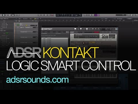 Automating Kontakt in Logic Pro X Using Smart Controls