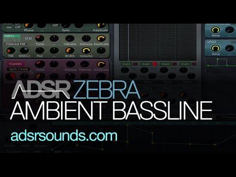 Create Warm Ambient Basslines in U-he Zebra