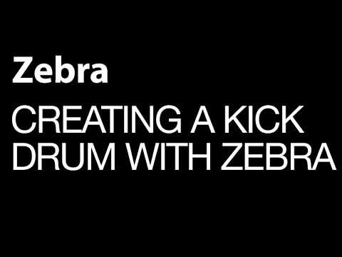 Creating a Basic Kick Drum Patch in U-He`s Zebra 2.6