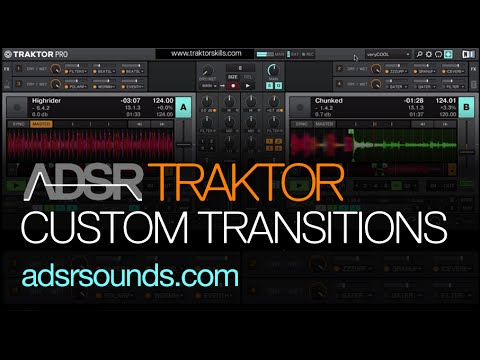 Custom Transition Effect Rack - traktor tutorial
