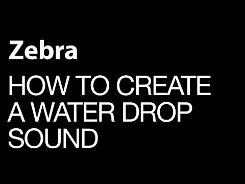How to Create A Water Drop With A Difference