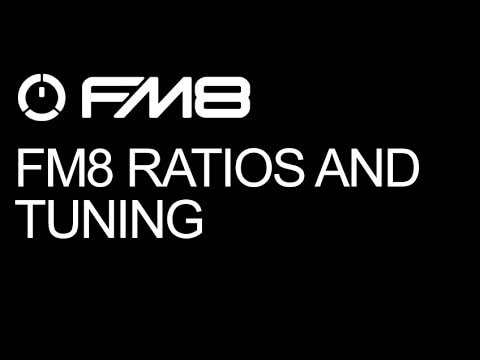 Learn How FM8 Ratios Affect The Pitch Of Your Sound