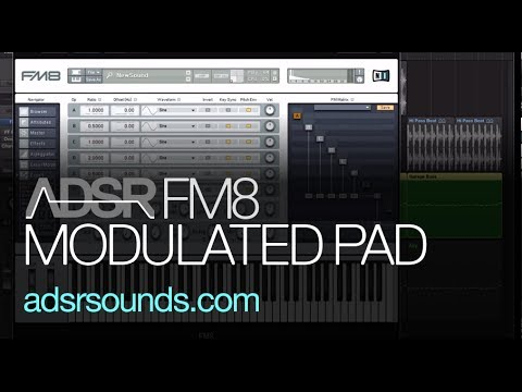 Learn How To Make a Modulated Pad in FM8