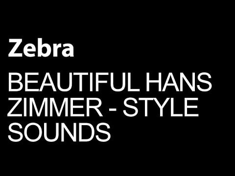 Make Beautiful Hans Zimmer Style Cinematic Sounds in U-he Zebra