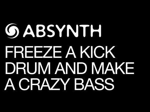 Make Big Bass Sounds With NI Absynth