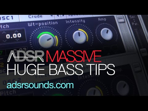 Make Huge Bass Sounds With Filter FM in Massive