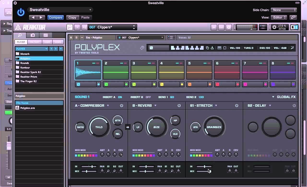NI Polyplex - Sound Design Tips and Tricks
