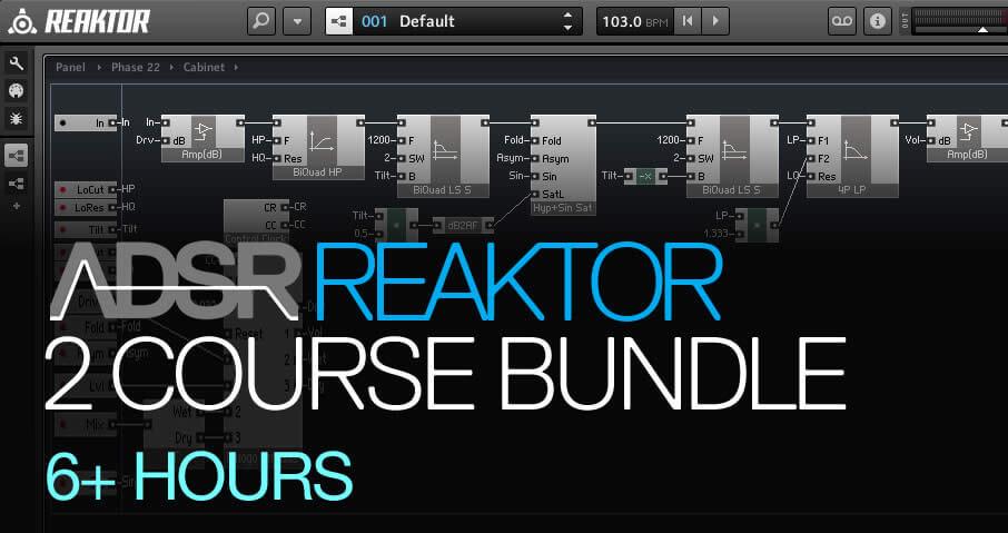Master Reaktor - Masterclass Bundle - ADSR