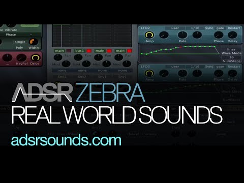 Replicate Real World Sounds with Zebra