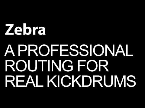 Setting Up An Acoustic Kickdrum Chain In Zebra