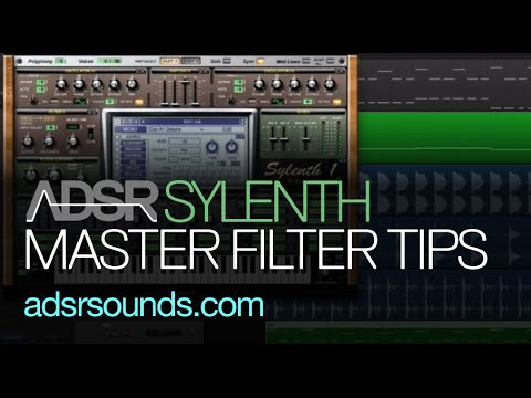 Sylenth Master Filter Tips and Tricks