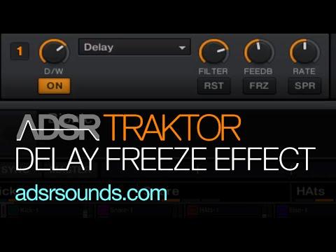 Traktor - Delay Freeze Effects