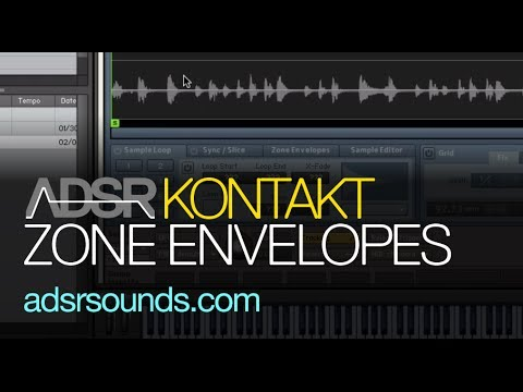 Use Zone Envelopes To Modulate Zone Parameters in Kontakt