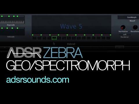 Using GeoMorph and SpectroMorph in Zebra