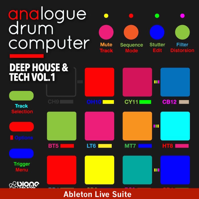 Deep House and Tech Vol.1 (Ableton Live Pack)