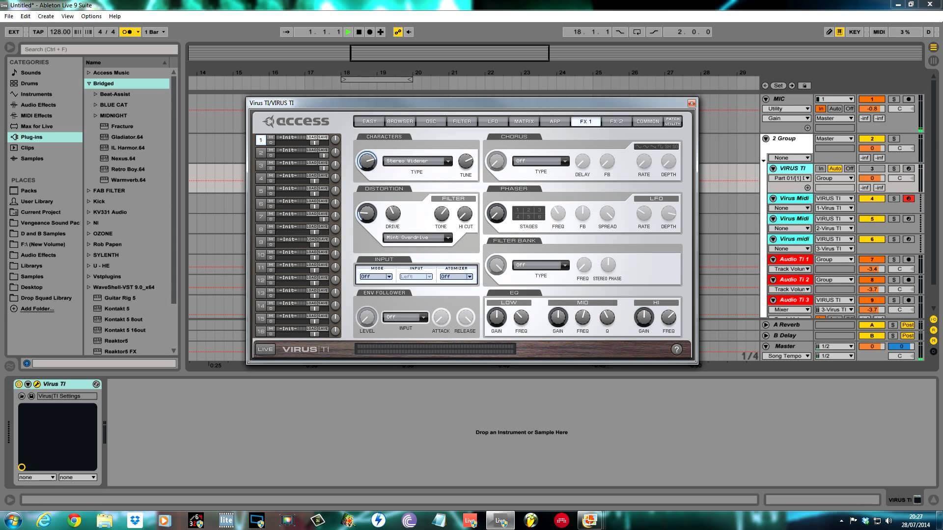 Access Virus Ti tutorial - Dream pad
