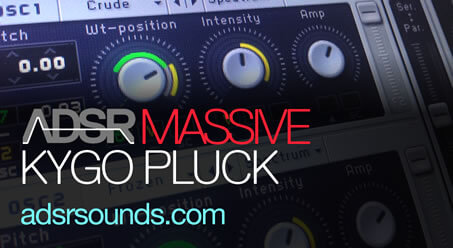 Kygo Pluck In Massive How To Tutorial