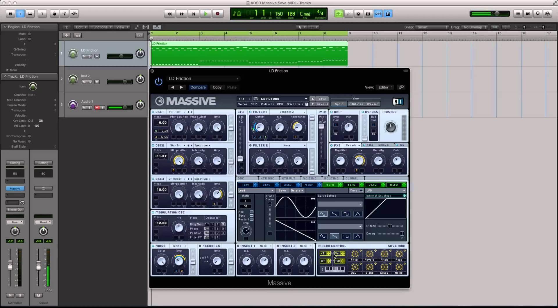 Learn How To make Custom MIDI Maps in Massive