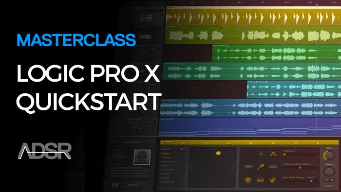 Logic Pro X QuickStart Guide