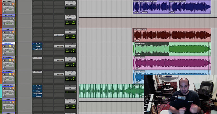 Mixing with Compression - ADSR