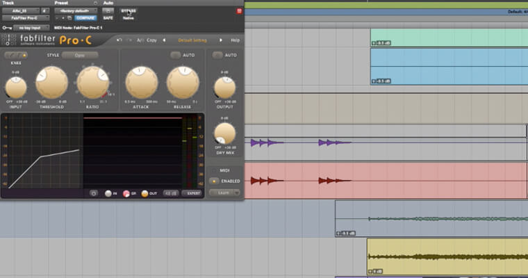 Mixing with EQ - ADSR