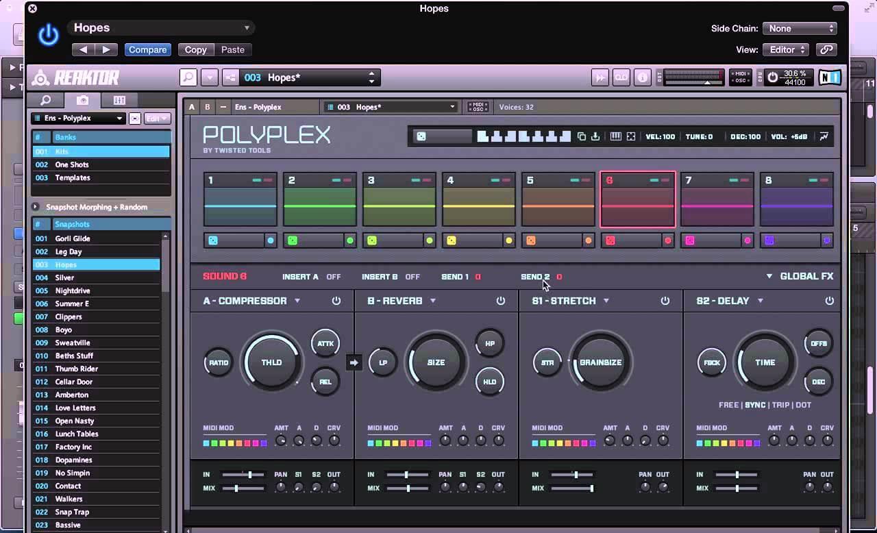 Polyplex - Tonal Sounds and Modulation