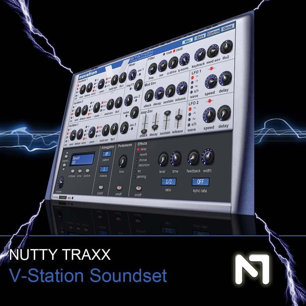 Nutty Traxx - V-Station Soundset