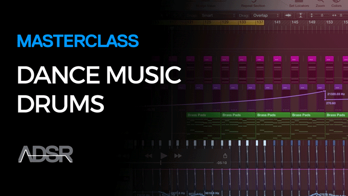 Drums For Electronic Dance Music Masterclass