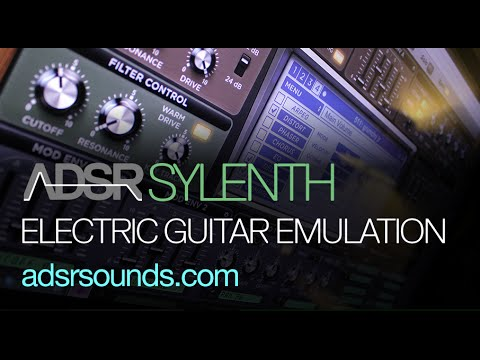Electric Guitar Emulation In Sylenth
