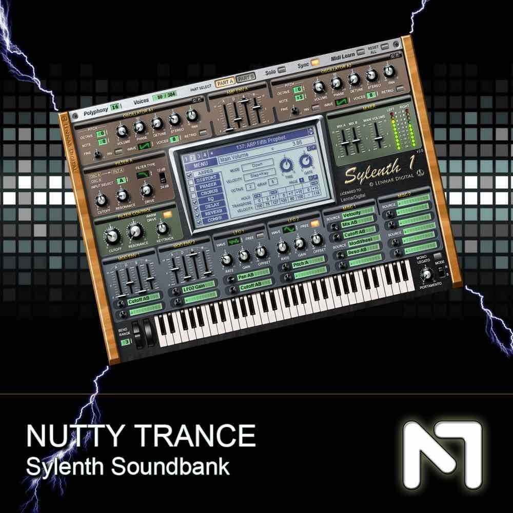 Nutty Traxx - Sylenth Soundset 1