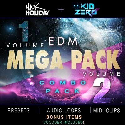 EDM Mega Pack Vol. 1 & 2