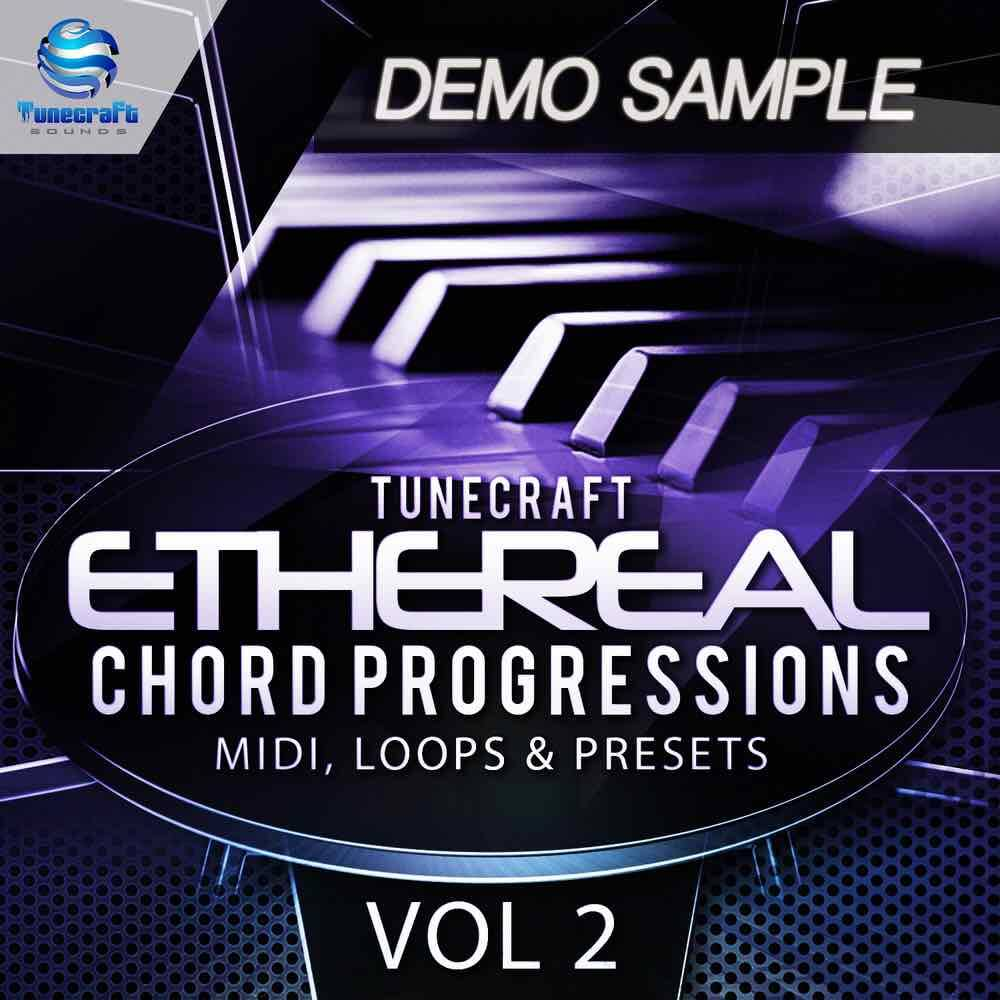 Tunecraft Ethereal Chord Progressions Vol.2 Demo - Free WAV & MIDI files