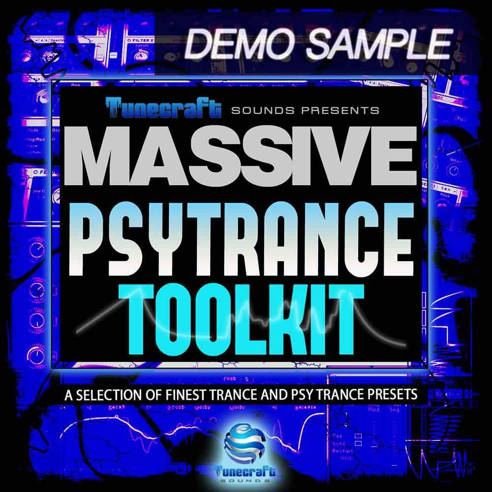 TuneCraft PsyTrance Toolkit Demo - Free Massive Presets